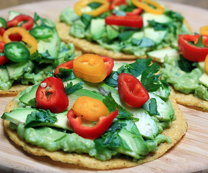 SPICY A VOCADO TOSTADA RECIPE